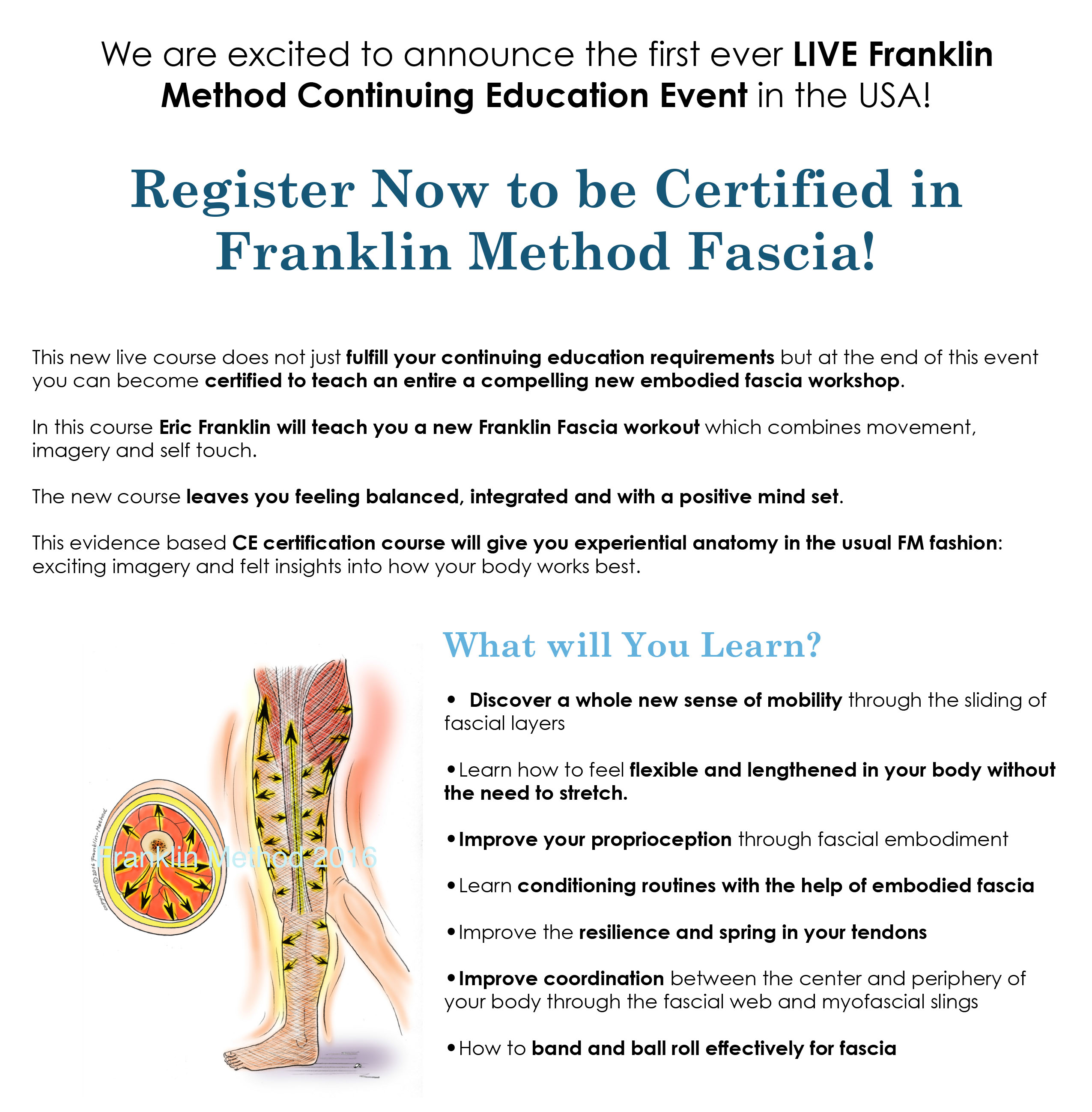 Register now certification to teach franklin method fascia register now certification to teach franklin method fascia franklin method 1betcityfo Images